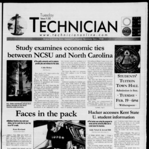 Technician, February 19, 2002