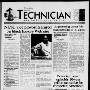 Technician, February 21, 2002