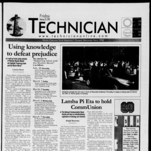 Technician, February 22, 2002