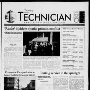 Technician, April 4, 2002