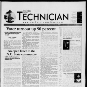 Technician, April 8, 2002