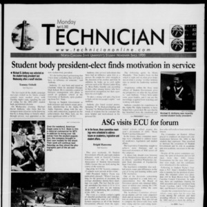 Technician, April 15, 2002