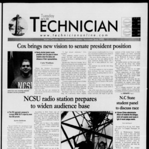 Technician, April 16, 2002