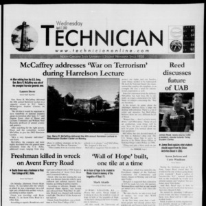 Technician, April 17, 2002