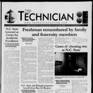 Technician, April 19, 2002