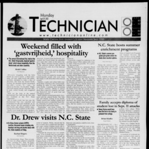 Technician, April 29, 2002