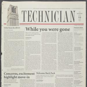 Technician, August 19, 2002