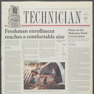 Technician, August 20, 2002