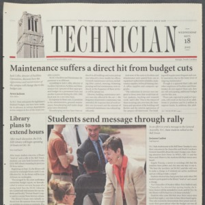 Technician, September 18, 2002