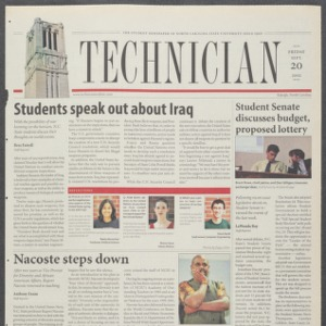 Technician, September 20, 2002