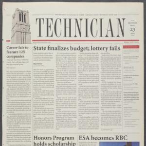 Technician, September 23, 2002
