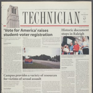 Technician, October 17, 2002