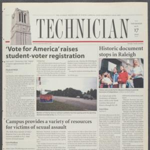 Technician, October 17, 2002