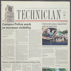 Technician, October 18, 2002