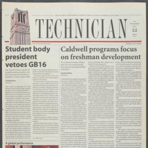 Technician, October 22, 2002