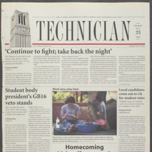 Technician, October 25, 2002