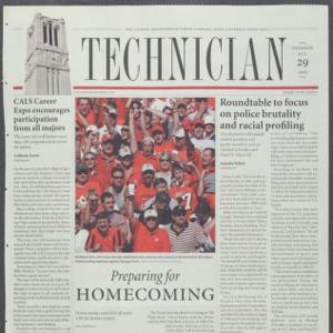 Technician, October 29, 2002