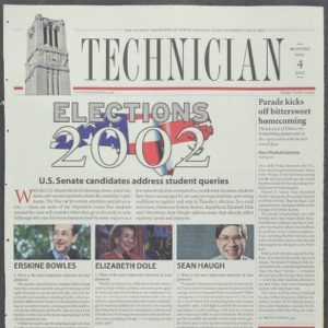 Technician, November 4, 2002
