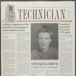 Technician, November 7, 2002
