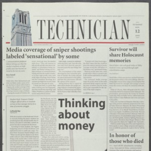 Technician, November 12, 2002