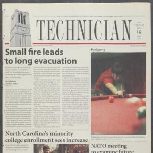 Technician, November 19, 2002