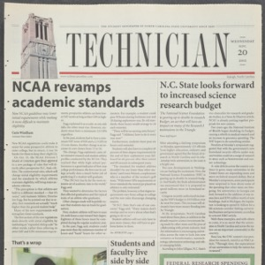 Technician, November 20, 2002