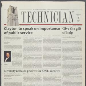 Technician, December 3, 2002