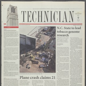 Technician, January 9, 2003