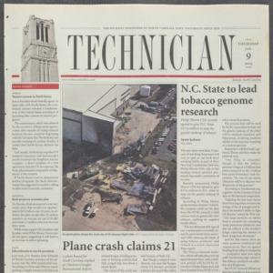 Technician, January 9, 2003