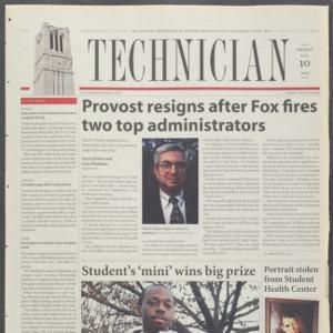 Technician, January 10, 2003