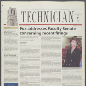 Technician, January 15, 2003
