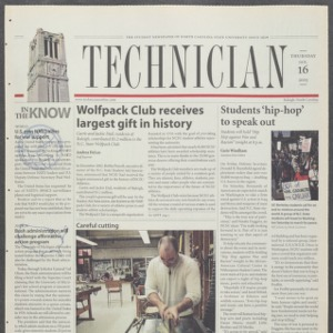 Technician, January 16, 2003