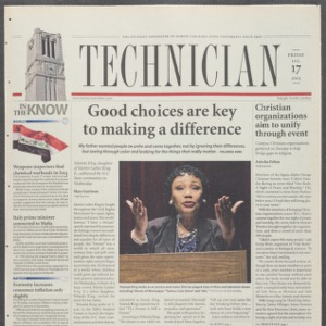 Technician, January 17, 2003
