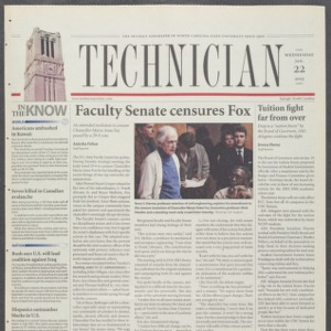 Technician, January 22, 2003