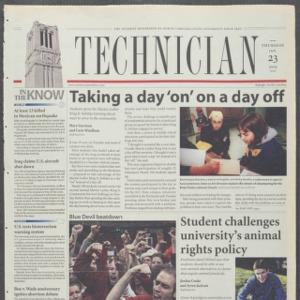 Technician, January 23, 2003