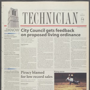 Technician, January 24, 2003