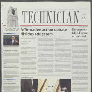 Technician, January 28, 2003