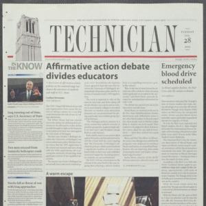Technician, January 28, 2003