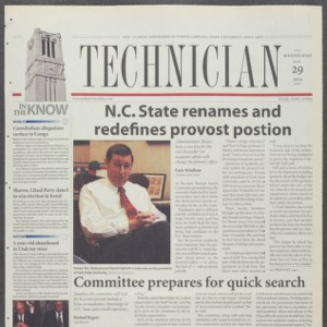 Technician, January 29, 2003