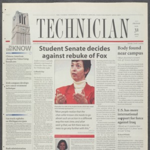 Technician, January 31, 2003