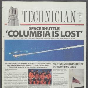 Technician, February 3, 2003