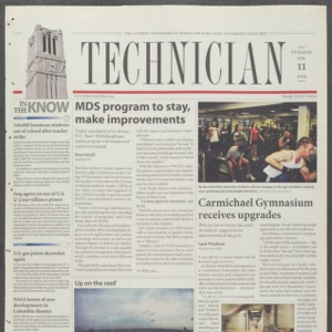Technician, February 11, 2003