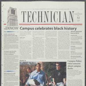 Technician, February 12, 2003