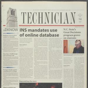Technician, February 14, 2003