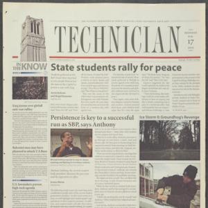 Technician, February 17, 2003