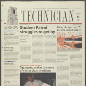 Technician, February 18, 2003