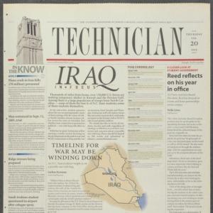 Technician, February 20, 2003