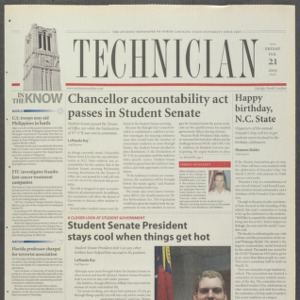 Technician, February 21, 2003