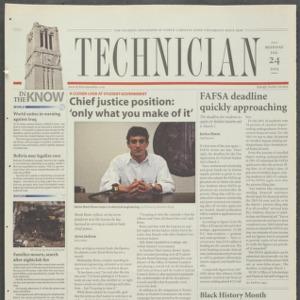 Technician, February 24, 2003