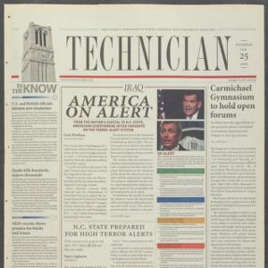Technician, February 25, 2003